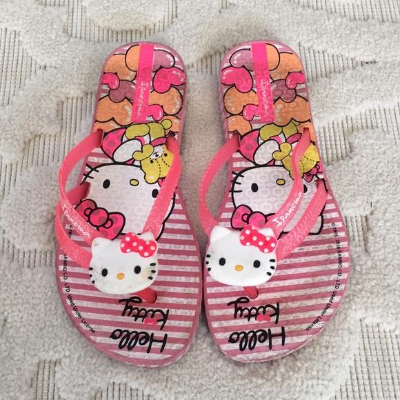 131 Girls Kitty door Ipanema Poshmark schoenen Hello Slippers Swzq4Y